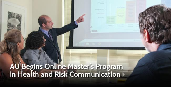 Ashland University Establishes Online Master's Program in Health and Risk Communication
