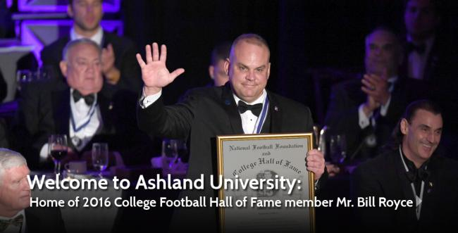 AU alumni Bill Royce inducted into the College Football Hall of Fame