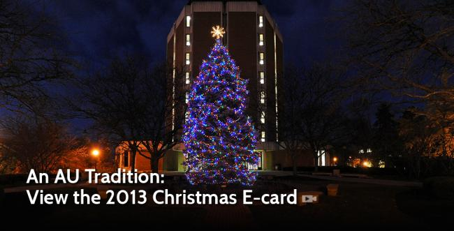 Ashland University Posts 2013 Electronic Christmas Card