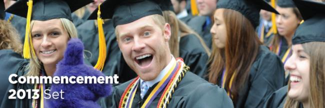 Commencement 2013 to be Held at Miller Stadium on May 11