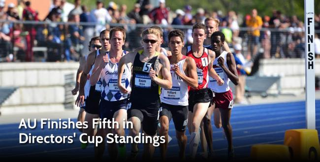 AU Finishes Fifth in  Directors' Cup Standings