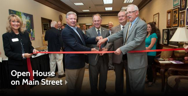 Open House Held for AU's Founders School on Main