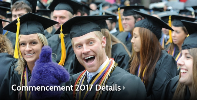 AU's Spring 2017 Commencement Set for May 6