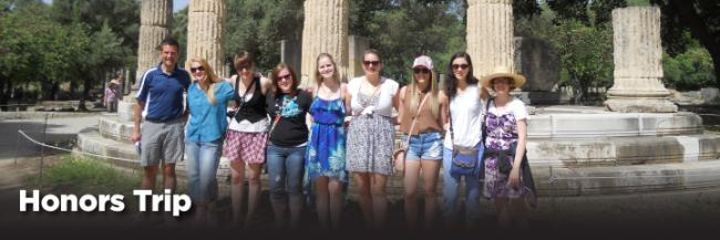 Ashland University Honors Students Participate in Grecian and Turkish Odyssey