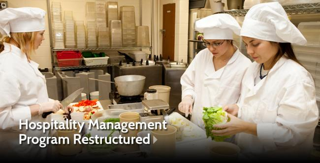 Ashland University Restructures Hospitality Management Program