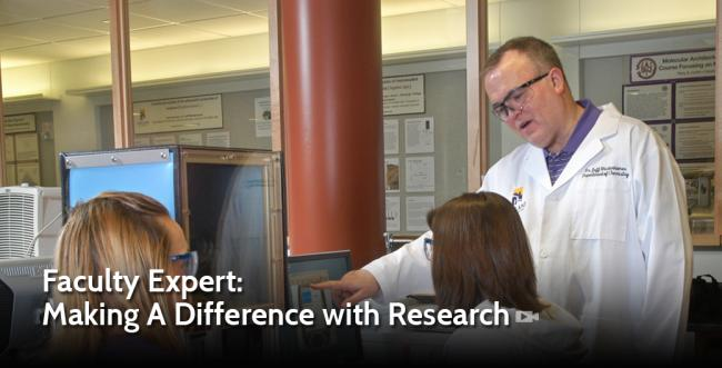 Faculty Expert: Making A Difference with Research
