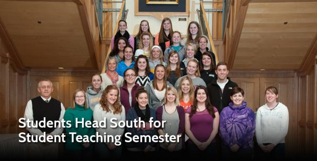 Ashland University Students Head for Warmer Climate for Student Teaching Semester