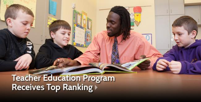 Ashland University's Teacher Education Program Receives Top Ranking