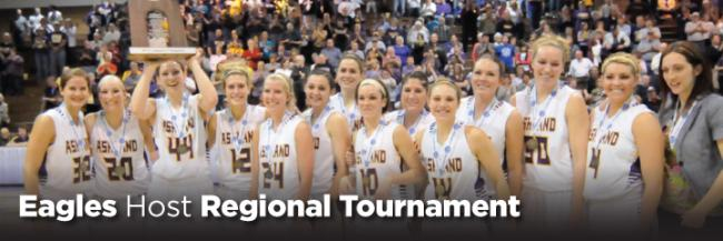 Eagles Ranked No. 2 in Nation; Host Regional Tournament